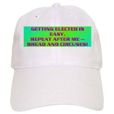 GETTING ELECTED IS EASY. Baseball Cap
