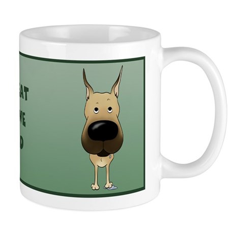 Fawn Great Dane Dad Mug