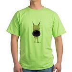 Big Nose Great Dane Green T-Shirt