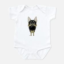 Big Nose German Shepherd Infant Bodysuit