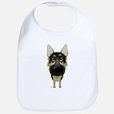 Big Nose German Shepherd Bib