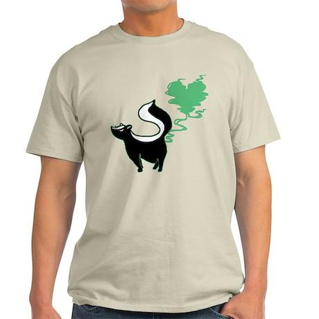 Stinky Love Skunk Light T-Shirt