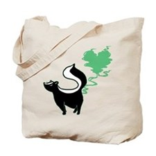 Stinky Love Skunk Tote Bag