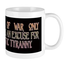 Solzhenitsyn on War and Tyran Small Mug