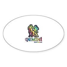 Zodiac Sign Gemini Decal