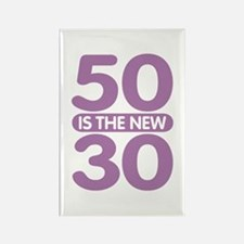 50 is the new 30 Rectangle Magnet