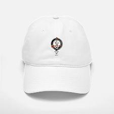 Gray Clan Crest Badge Baseball Baseball Cap