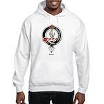 Gray Clan Crest Badge Hooded Sweatshirt