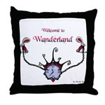 Welcome To Wanderland Throw Pillow