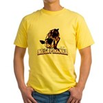 Mega Piranha Yellow T-Shirt