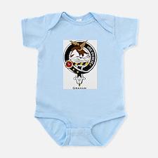 Graham Clan Crest Badge Infant Creeper