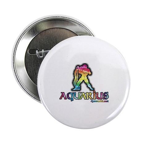 "Zodiac Sign Aquarius 2.25"" Button (10 pack)"