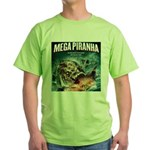 Mega Piranha Green T-Shirt