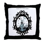 Alice Is Lost In Wanderland Throw Pillow