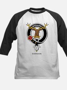Gordon Clan Crest Badge Kids Baseball Jersey