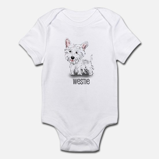 Westhighland White Terrier Infant Creeper