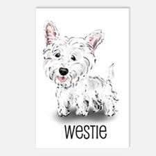 Westhighland White Terrier Postcards (Package of 8