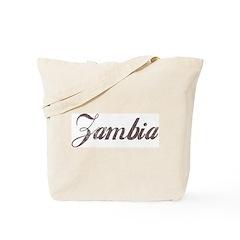 Vintage Zambia Tote Bag