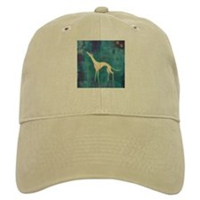 Standing Greyhound Baseball Cap