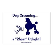 Grooming Shear Delight Postcards (Package of 8)
