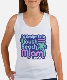 Rather Be In South Beach Women's Tank Top