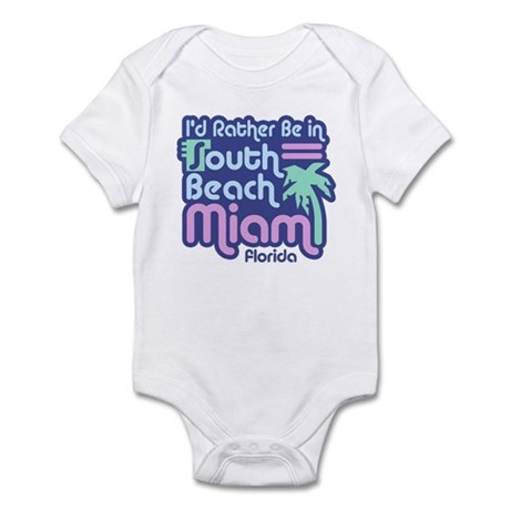 Rather Be In South Beach Infant Bodysuit