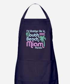 Rather Be In South Beach Apron (dark)