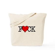 I HEART FCK Tote Bag