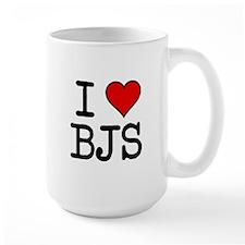 I HEART BJs Ceramic Mugs