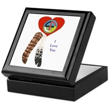 Indian Valentine's Day Keepsake Box