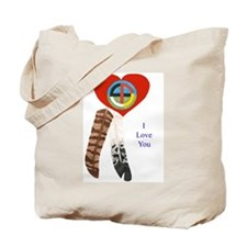 Indian Valentine's Day Tote Bag