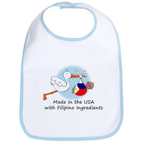Stork Baby Philippines USA Bib