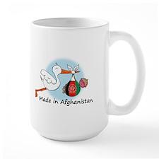Stork Baby Afghanistan Mug