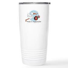 Stork Baby Afghanistan Travel Mug