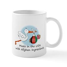 Stork Baby Afghanistan USA Mug