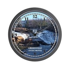 Reedy River Falls Wall Clock