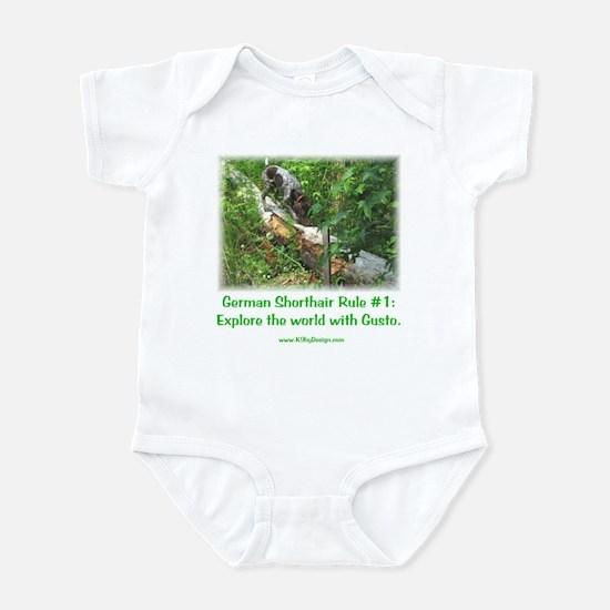 GSP Rule #1 Infant Creeper