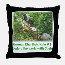 GSP Rule #1 Throw Pillow