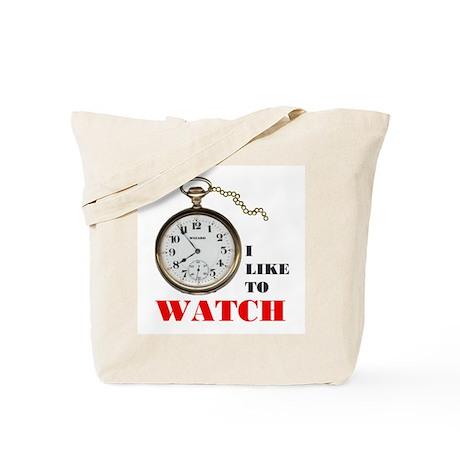 WATCHING IS FUN Tote Bag