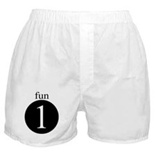 Number Boxer Shorts