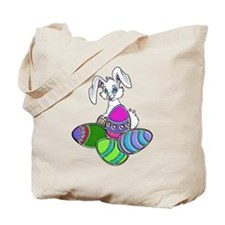 EASTER BUNNY AND EGGS Tote Bag