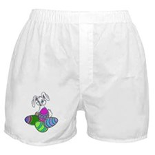 EASTER BUNNY AND EGGS Boxer Shorts