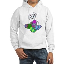 EASTER BUNNY AND EGGS Jumper Hoody