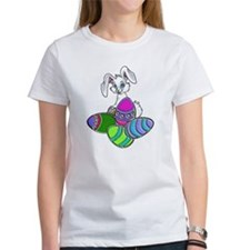 EASTER BUNNY AND EGGS Tee