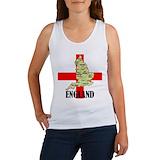 England Women's Tank Tops