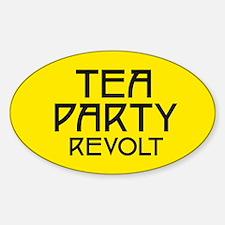 Tea Party Revolt (plain) Decal