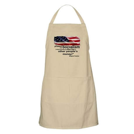 Problem with Socialism Apron
