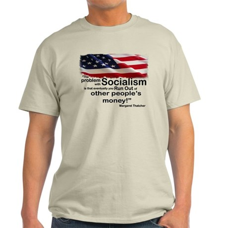 Problem with Socialism Light T-Shirt