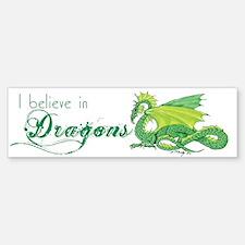 I Believe in Dragons Bumper Bumper Sticker