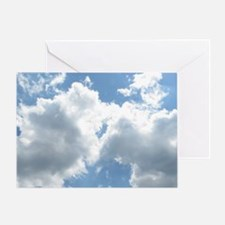 Sunlit Clouds Greeting Card